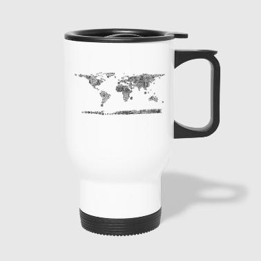 map - Travel Mug
