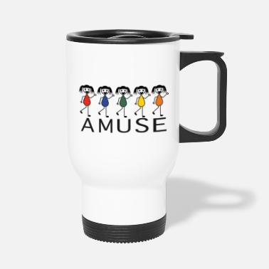 Amusing Amuse - Travel Mug