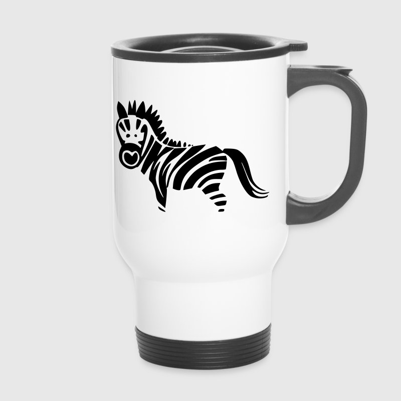 Zebra Motive - Thermobecher