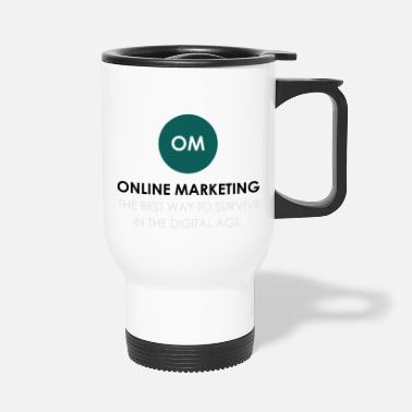 Online online marketing - Travel Mug