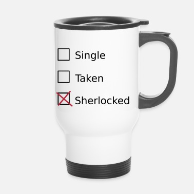 Sherlock Single Taken Sherlocked - Thermobecher