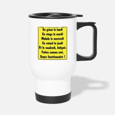 Official Person Official - Travel Mug