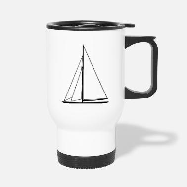 Sail Boat sail boat - Travel Mug