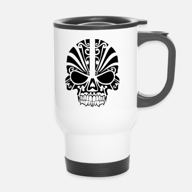 Tribal-skull Skull tribal - Travel Mug