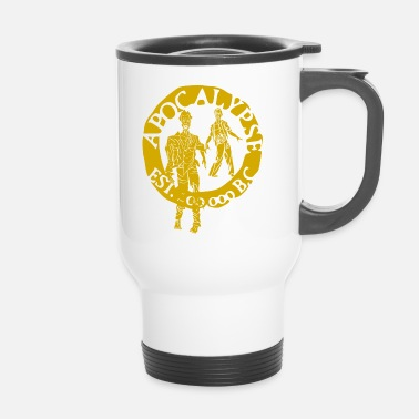 Tlc zombies gold - Taza termo
