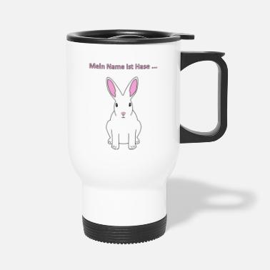 My Name Is My name is rabbit - Travel Mug