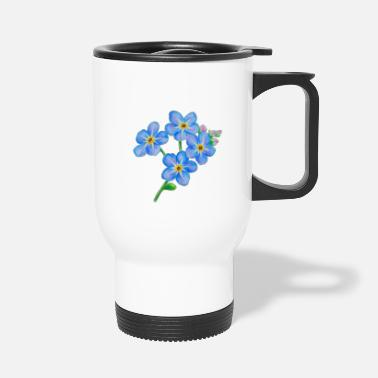 Vergissmeinnicht - Forget Me Not - Thermobecher