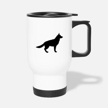 German Shepherd german shepherd - Travel Mug