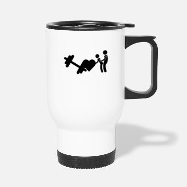 Fitness Fitness Funny - Travel Mug