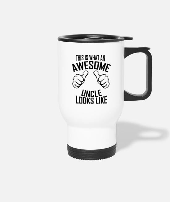 Ingenious Mugs & Drinkware - uncle - Travel Mug white