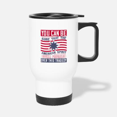 Démocrate Patriot Day American Spirit veut l'emporter - Mug isotherme