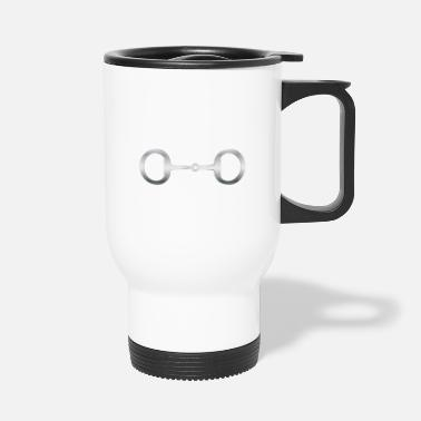 Snaffle Bit Stainless Steel - Travel Mug