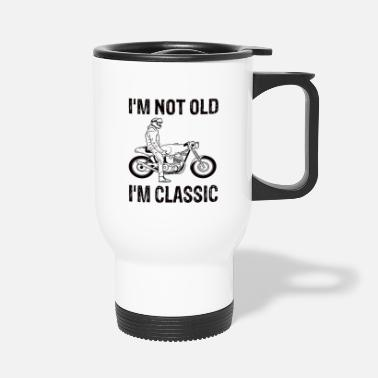 Motorcyclist motorcyclist - Travel Mug