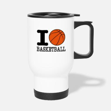 I Love Basketball I love basketball / I love basketball - Travel Mug