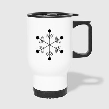 flocon de neige - Mug thermos