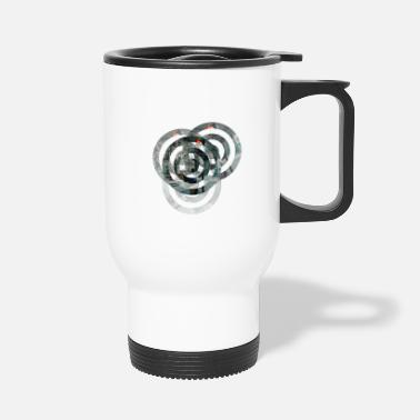 Circle Circles - Travel Mug