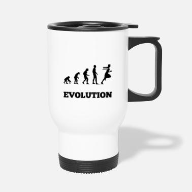 Ape evolution - Travel Mug