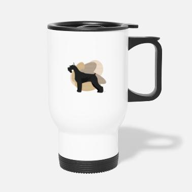 Ixco Dogs Collection by IxCÖ #Schnauzer - Travel Mug