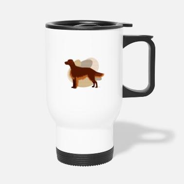 Ixco Dogs Collection by IxCÖ #Setter - Travel Mug