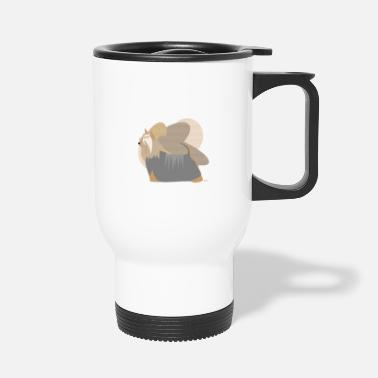 Ixco Dogs Collection by IxCÖ #Silky - Travel Mug