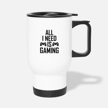 Gamer Gaming gamers gamers gamers - Thermosbeker