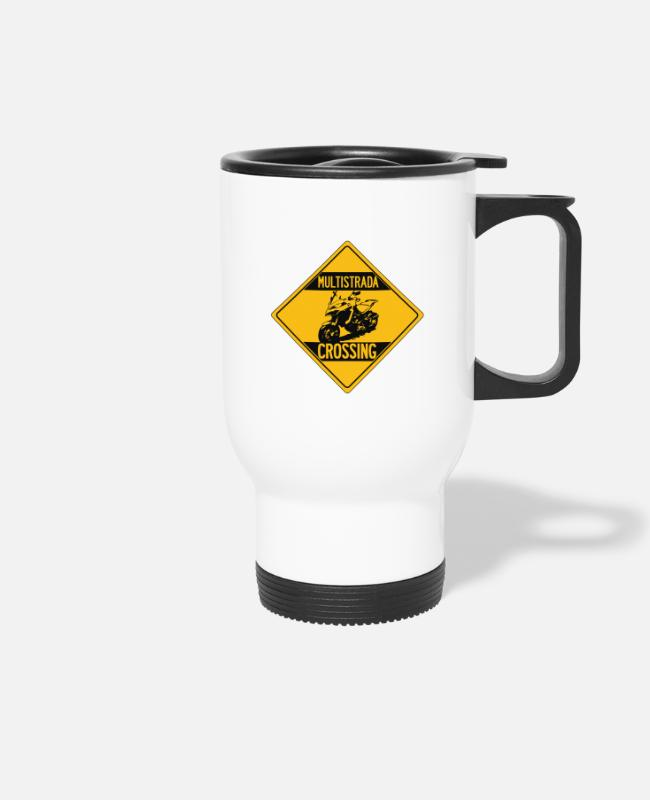 Travel Bug Mugs & Drinkware - Multistrada 1200 Enduro - Travel Mug white