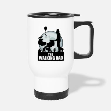 The Walking Dad Zwillinge THE WALKING DAD zombie - Thermobecher