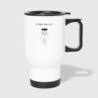 Hat muscle man - Travel Mug