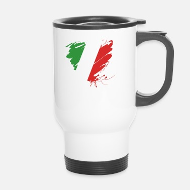 Cuore Coeur Cuore Italie Calcio Italiano Football - Mug thermos