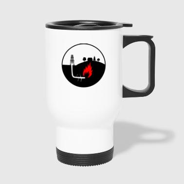 Oil production - Travel Mug
