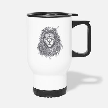 Mainstream Lion Mainstream Illustration - Travel Mug