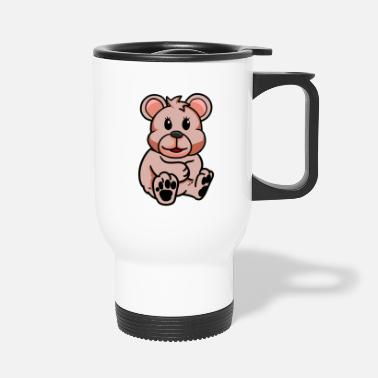 Bébé Animal Teddy Bear Teddy Animal en Peluche Enfants Enfant Bébé - Mug isotherme