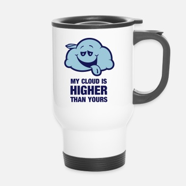My cloud is higher than yours - Thermobecher