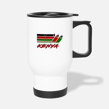 Nairobi Kenya Flag / Kenya Gift National Flag - Travel Mug