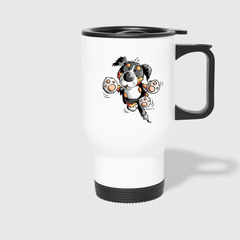 Funny Bernese Mountain Dog  - Travel Mug