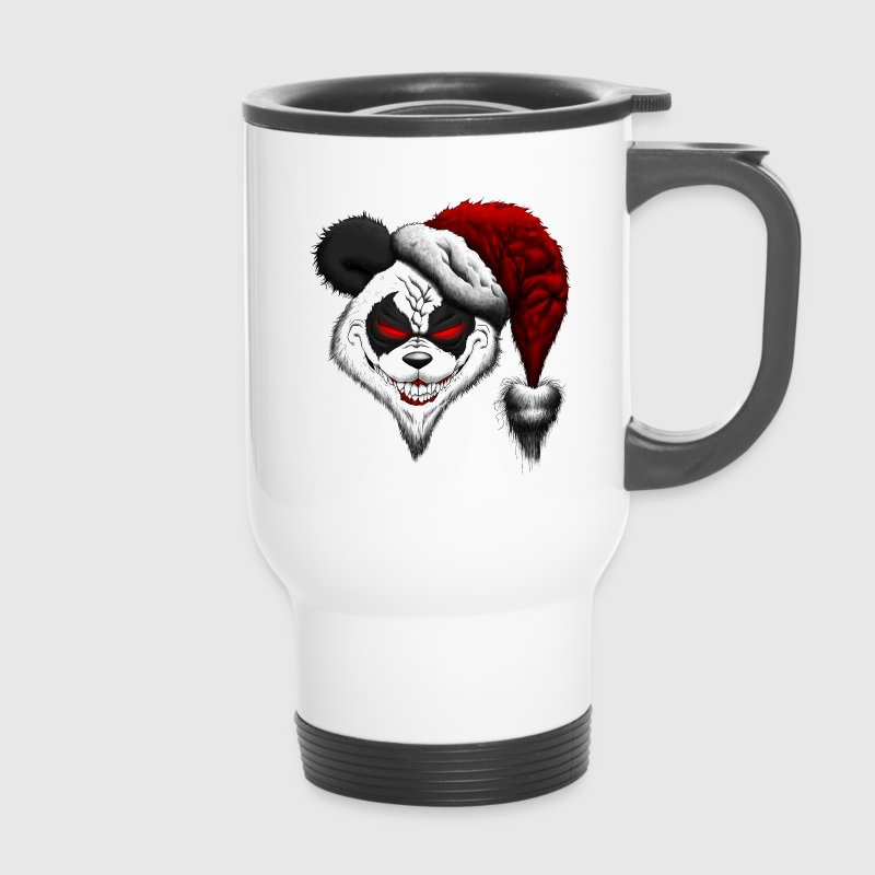 Evil Christmas Panda - Thermobecher