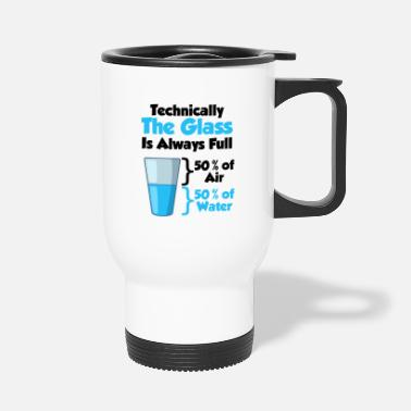 Atom Physics TShirt physicist research math gift - Travel Mug