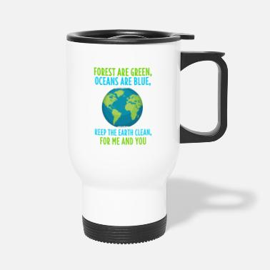 Co2 Environmental Shirt Climate Change Eco Environmental Gift - Travel Mug