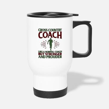 Country Cross Country Coach Gift Cross Country Coach Like - Travel Mug