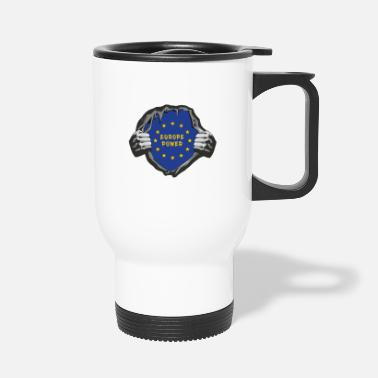 European Champion Europe chest / EU gift European Union - Travel Mug