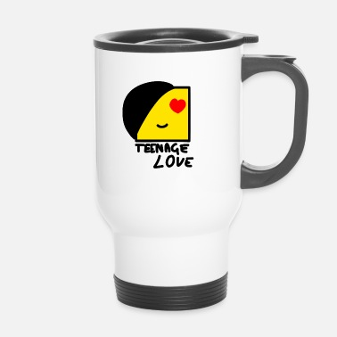 Teenager Emo Boy: Teenage Love - Mug thermos