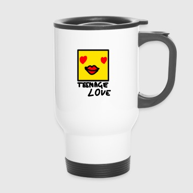 Self Picture Girl: Teenage Love - Mug thermos