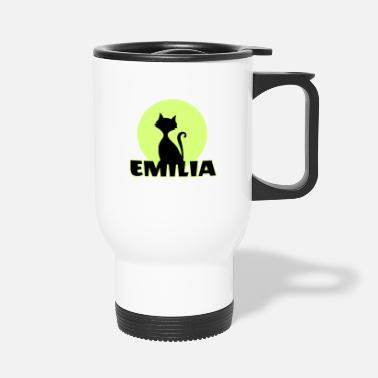 Name Day Emilia Name day first name personal gift - Travel Mug