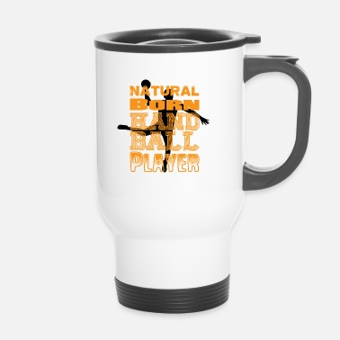 Sports Handball Player Sport Équipe Sport - Mug thermos