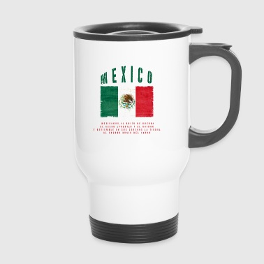 Mexican Flag Bandera Mexico - Travel Mug