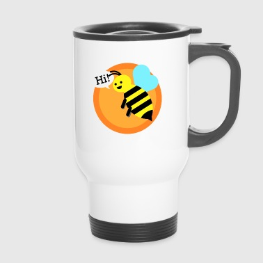 Bumble Bee Cool bumble bee - Travel Mug