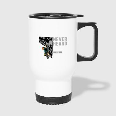 Rock Climbing Mountaineering Climbing - Travel Mug