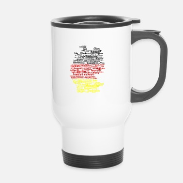 Karlsruhe Germany city - Travel Mug