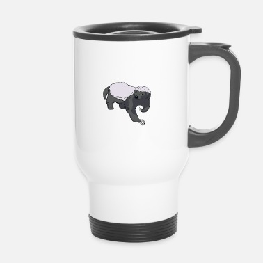 Honey badger - Travel Mug