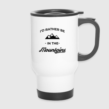 Mountain Mountaineering Mountain sports Mountain running Climbing - Travel Mug